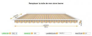 remplacer-toile-store-banne
